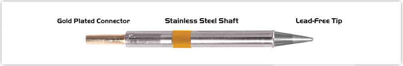 "Thermaltronics K75CS014 Conical Sharp 1.4mm (0.055"")"