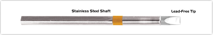 """Thermaltronics S75CH050 Chisel Extra Large 5.0mm (0.20"""")  interchangeable for Metcal SSC-717A"""