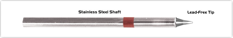 """Thermaltronics S80CH010 Chisel 30deg 1.0mm (0.04"""") interchangeable for Metcal SSC-825A"""