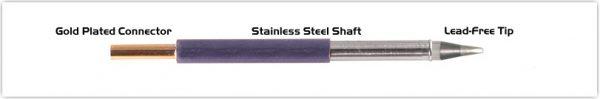 "Thermaltronics T60CH016 Chisel 30deg 1.60mm (0.06"")"
