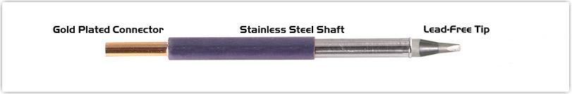 "Thermaltronics T60CH024 Chisel 30deg 2.40mm (0.09"")"