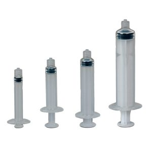 Manual Syringe Assembly - Graduated 3CC - 50 pack