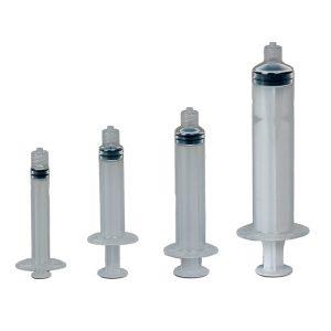 Manual Syringe Assembly - Graduated 3CC - 50 pack