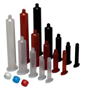 Clear Dispensing Barrels 3cc - 50 pack